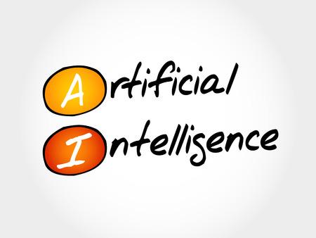 definition: AI - Artificial Intelligence, acronym concept