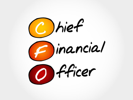 execute: CFO - Chief Financial Officer, acronym business concept