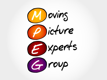 mpg: MPEG Moving Picture Experts Group, acronym concept
