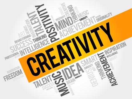 smart goals: Creativity word cloud concept