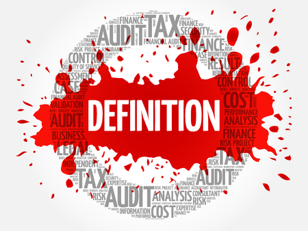 governing: DEFINITION word cloud, business concept