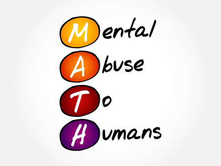 MATH - Mental Abuse To Humans, acronym concept