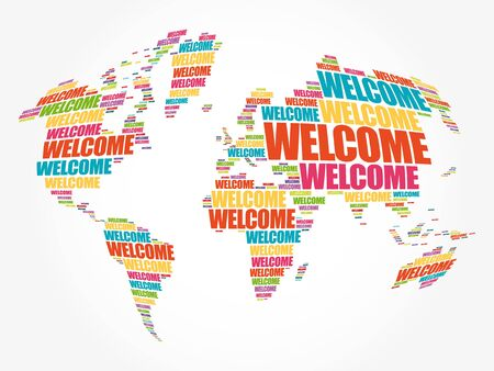 Image result for welcome clipart world