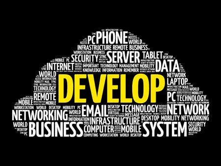 potential: Develop word cloud collage, technology concept design.