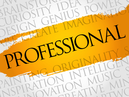 potential: Professional word cloud collage, creative business concept background