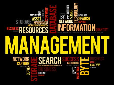 Management word cloud.