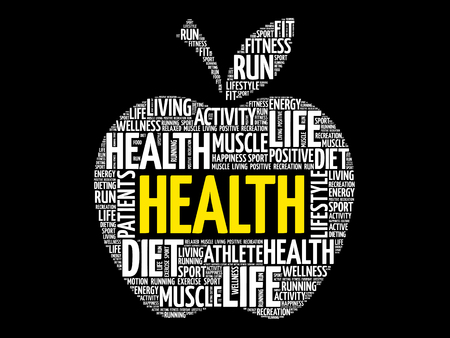 Health word cloud.