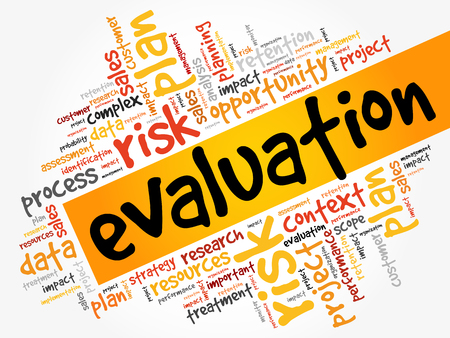 Evaluation word cloud.
