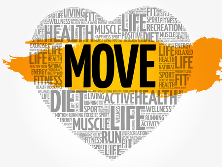 MOVE heart word cloud.