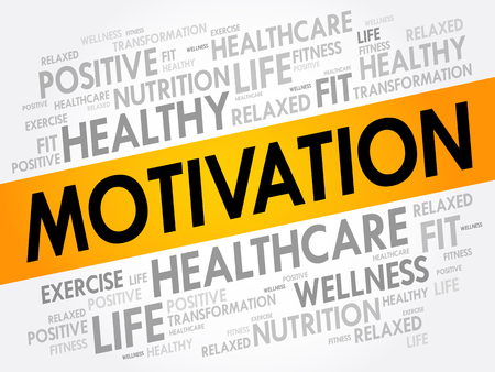 goodness: MOTIVATION word cloud, fitness, sport, health concept