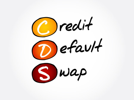 CDS – Credit Default Swap acronym, business concept background