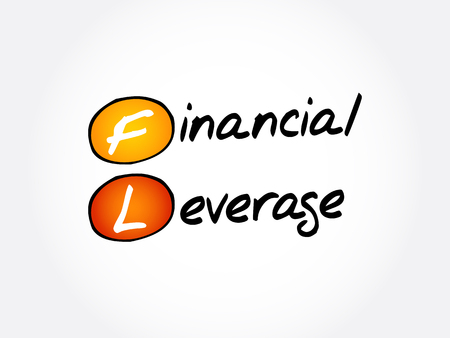 FL - Financial Leverage acronym, business concept background