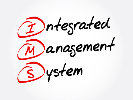 IMS - Integrated Management System acronym, business concept background