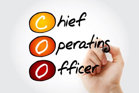COO - Chief Operating Officer, acronym business concept background Фото со стока