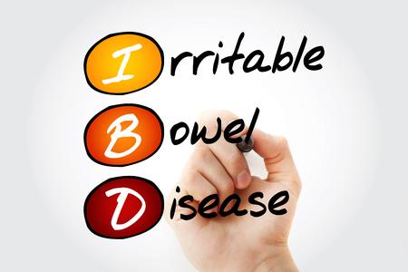 IBD - Inflammatory Bowel Disease, acronym health concept background Stock fotó - 116406321