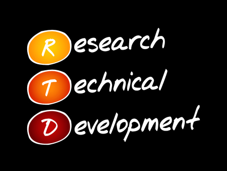 RTD - Research Technical Development, acronym business concept