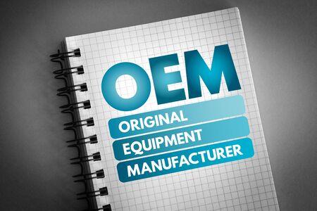 OEM - Original Equipment Manufacturer Akronym, Hintergrund des Geschäftskonzepts