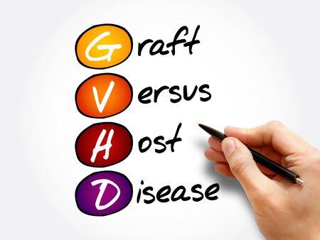 GVHD - Graft-versus-host disease acronym, concept background