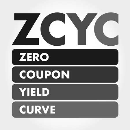 ZCYC - Zero Coupon Yield Curve acronym, business concept background
