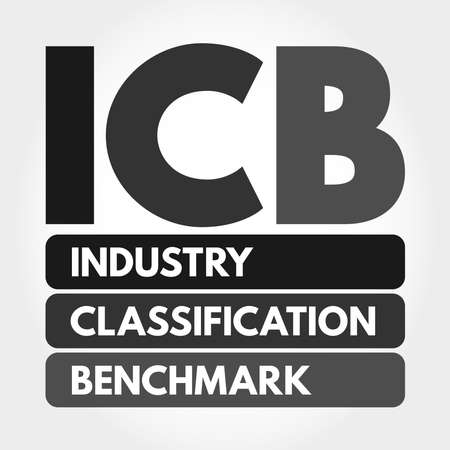 ICB - Industry Classification Benchmark acronym, technology concept background