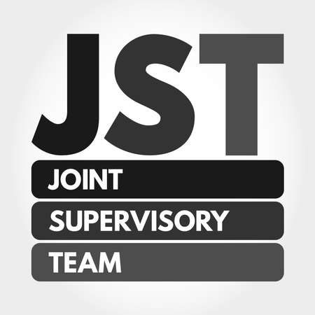 JST - Joint Supervisory Team acronym, business concept background