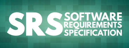 SRS - Software Requirements Specification acronym
