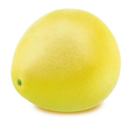 Whole pomelo isolated on a white background. With clipping path Stock Photo