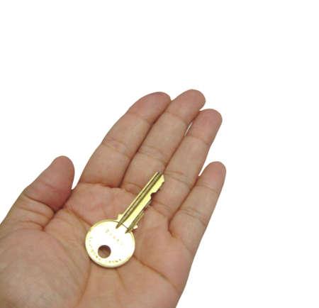 Key In Hand Stok Fotoğraf