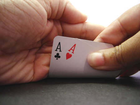Winning Hand Stock Photo