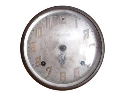 Old Clock Face Banco de Imagens