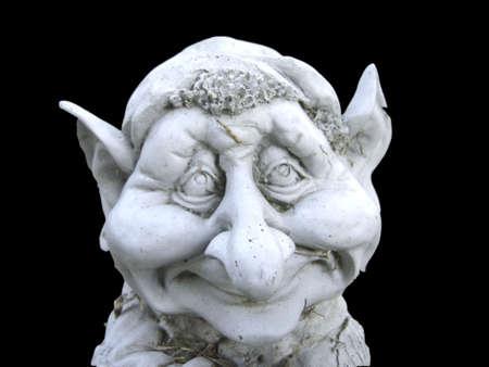Troll van Sadness Stockfoto