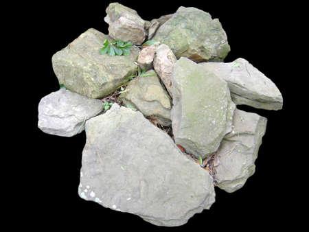 ベッド O 岩