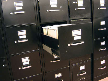 File Cabinet Stok Fotoğraf