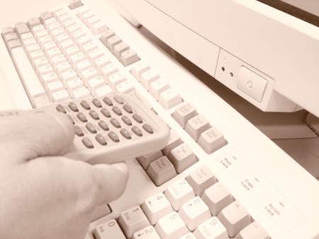 リモート デスクトップ 写真素材