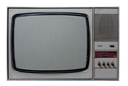Vintage TV Stock Photo - 6583448