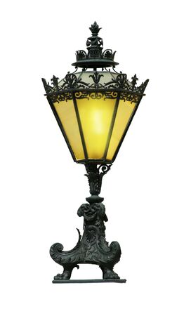 Antique street lighter Stock Photo - 6618118