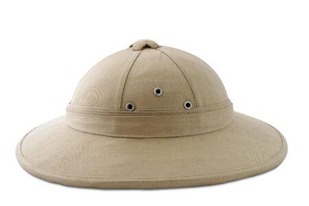 pith: Colonial cork helmet