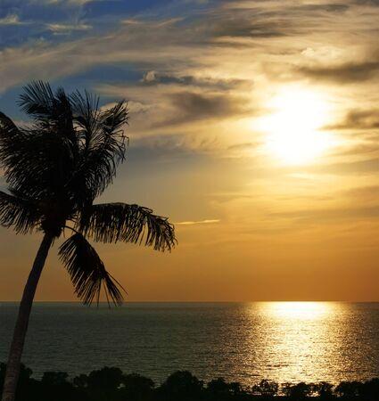 Beach sunset Stock Photo - 6657051