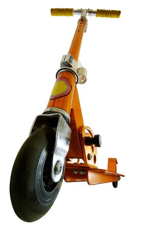 wide angle shot of scooter isolated  Stock Photo - 6657207