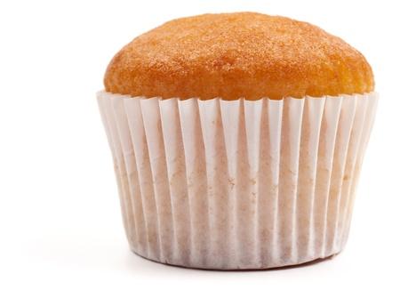 Muffin isolated on white Standard-Bild