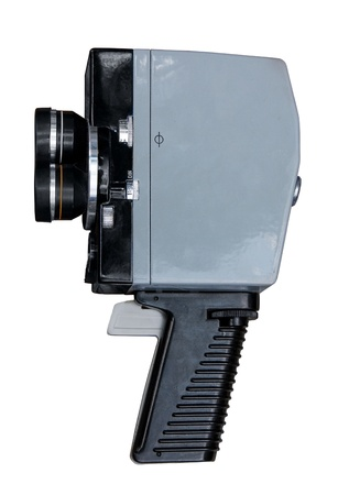 Vintage 8mm movie camera.  Stock Photo - 10026836