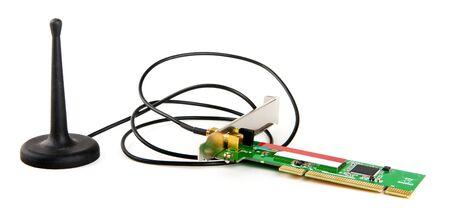 pci card: Wireless pci card with external antenna