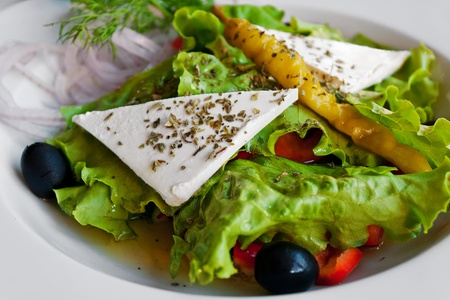Mediterranean salad photo