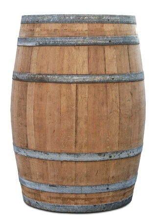 beer barrel: Barrel with clipping path