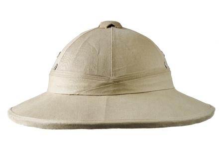 colonial helmet Stock Photo