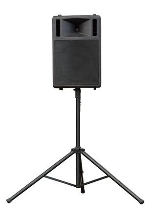 concert loudspeaker isolated