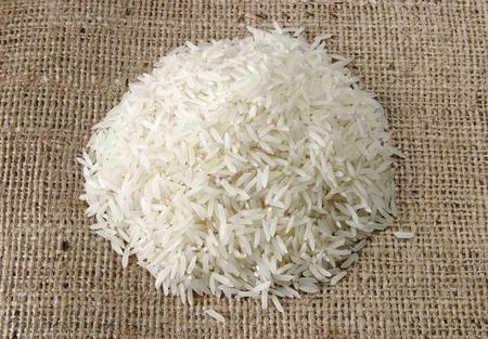 basmati: heap of rice
