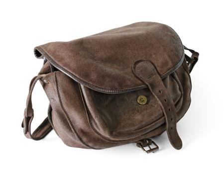 hunting bag Stock Photo