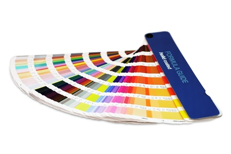 Printing color guide Banque d'images