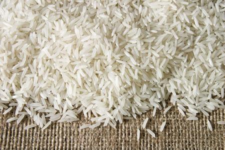 rice on sacking